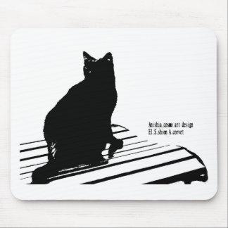 kuroaato Tokyo design cloa art tokyo design 2016 Mouse Pad
