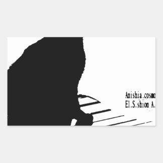 kuroaato Tokyo design cloa art tokyo design 2016 Rectangular Sticker