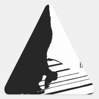 kuroaato Tokyo design cloa art tokyo design 2016 Triangle Sticker