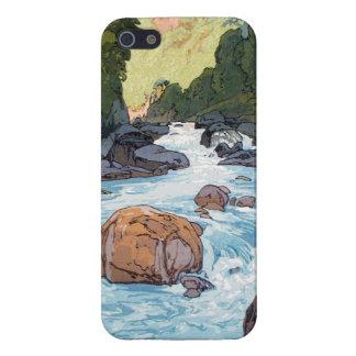 Kurobe River by Hiroshi Yoshida shin hanga art iPhone 5/5S Cover
