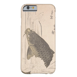 Kurokawa Michita Carp Trying to Swim up Waterfall Barely There iPhone 6 Case