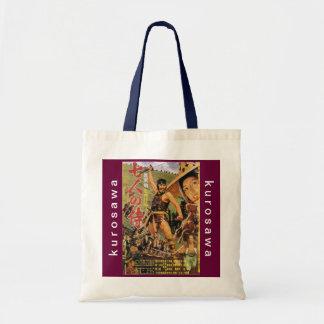 Kurosawa Vintage Seven Samurai Poster Tote Bag