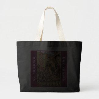 Kurosawa Vintage Seven Samurai Poster Tote Canvas Bag