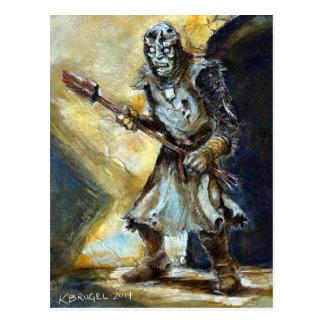 Kurt Brugel Draws Bleak Sentinel in Full Color Postcard