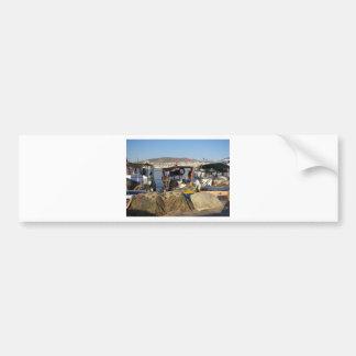 Kusadasi Fishing Harbor Bumper Sticker