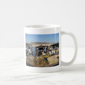 Kusadasi Fishing Harbor Coffee Mug