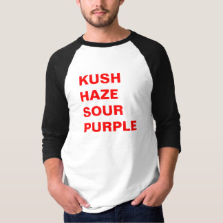 KUSH HAZE SOUR PURPLE T-SHIRT