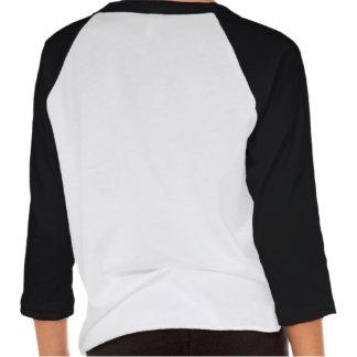 kush urban wear girls two tone t-shirt v1