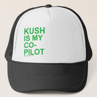 KushIsMyCoPilot Trucker Hat