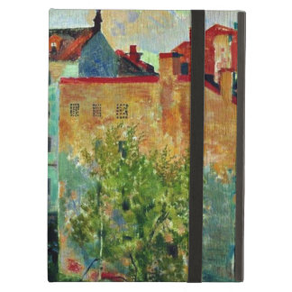 Kustodiev: View from the Window cityscape artwork Case For iPad Air