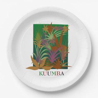 KUUMBA Kwanzaa Party Paper Plates