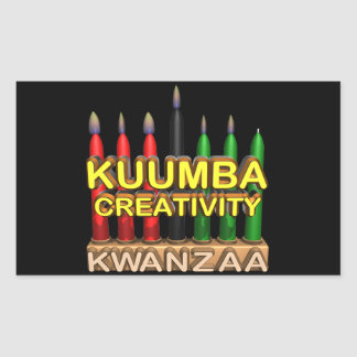 Kuumba Rectangular Sticker