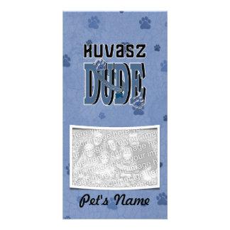 Kuvasz DUDE Photo Greeting Card