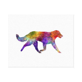 Kuvasz in watercolor 2 canvas print