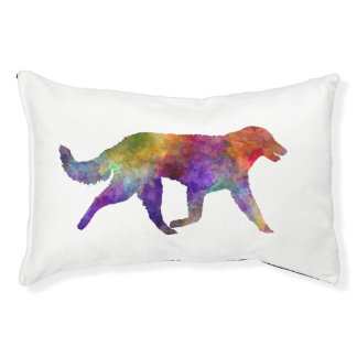 Kuvasz in watercolor 2 pet bed