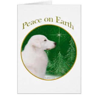 Kuvasz Peace Card