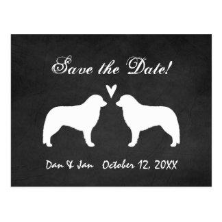 Kuvasz Wedding Save the Date Postcard