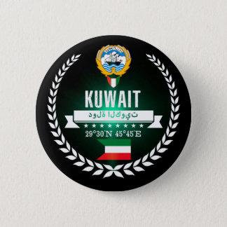 Kuwait 6 Cm Round Badge