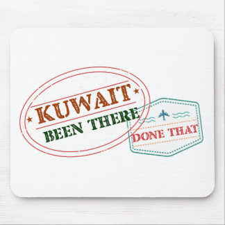 Kuwait Been There Done That Mouse Pad