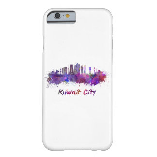 Kuwait City V2 skyline in watercolor Barely There iPhone 6 Case