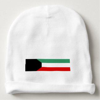 Kuwait country long flag nation symbol republic baby beanie
