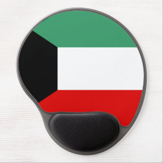 Kuwait country long flag nation symbol republic gel mouse pad