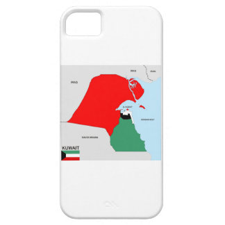 kuwait country map flag case for iPhone 5/5S