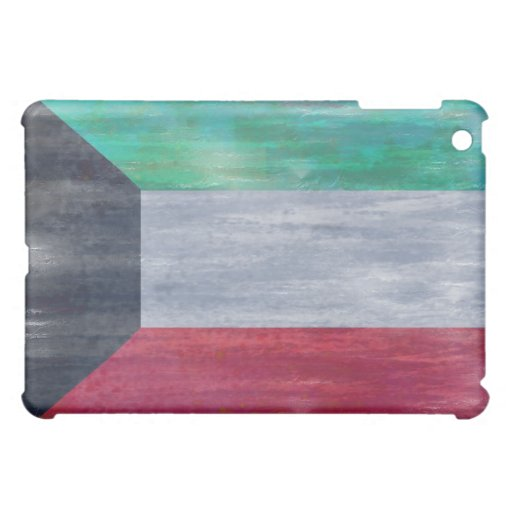 Kuwait distressed flag case for the iPad mini