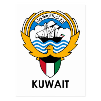 KUWAIT - emblem/flag/coat of arms/symbol Postcard