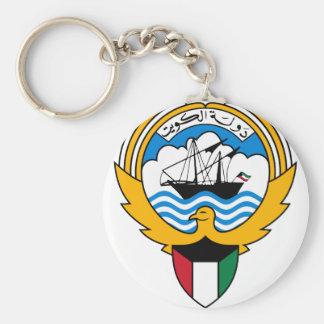 kuwait emblem key ring
