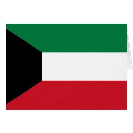 Kuwait Flag Card