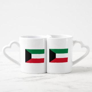 Kuwait Flag Coffee Mug Set