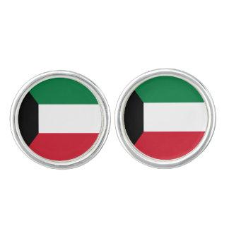 Kuwait Flag Cufflinks