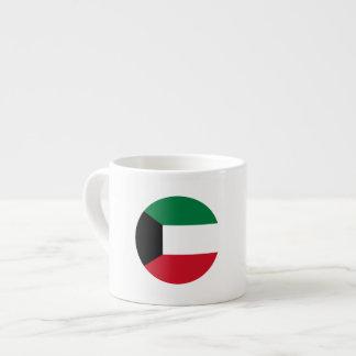 Kuwait Flag Espresso Cup