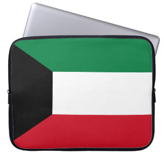 Kuwait Flag Laptop Sleeve