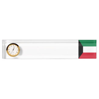 Kuwait Flag Name Plate