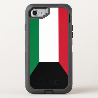 Kuwait Flag OtterBox Defender iPhone 8/7 Case