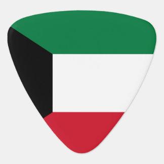 Kuwait Flag Plectrum