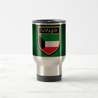 Kuwait Flag Travel Mug