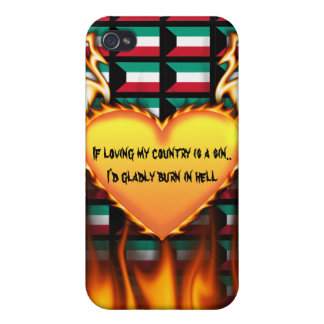 kuwait If loving my country is a sin Case For iPhone 4