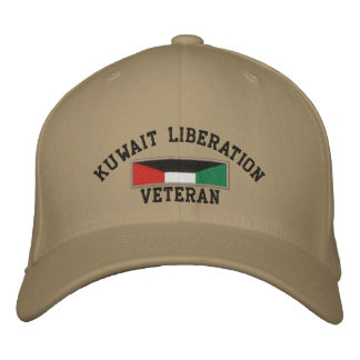 Kuwait Liberation Embroidered Hat