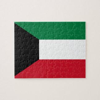 Kuwait National World Flag Jigsaw Puzzle