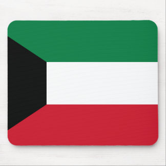 Kuwait National World Flag Mouse Pad