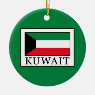 Kuwait Round Ceramic Decoration