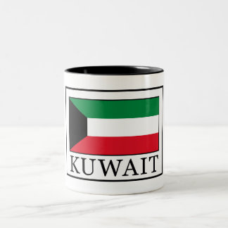 Kuwait Two-Tone Coffee Mug