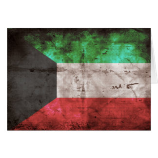 Kuwaiti Flag Greeting Cards