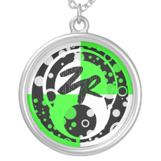Kuya's Logo Round Pendant Necklace