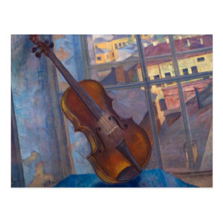 Kuzma Petrov-Vodkin - A Violin Postcard