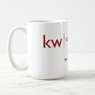 KW re:thing real estate white mug