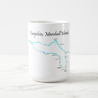 Kwajalein Atoll, Marshall Islands Coffee Mug